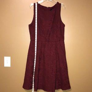 Ann Taylor Dress - Burgundy - Size 8